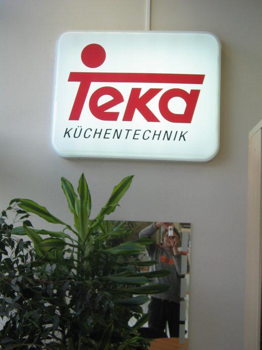 Стандартни светещи табели за TEKA