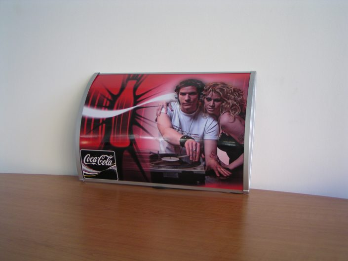 Стандартни светещи табели за Coca Cola