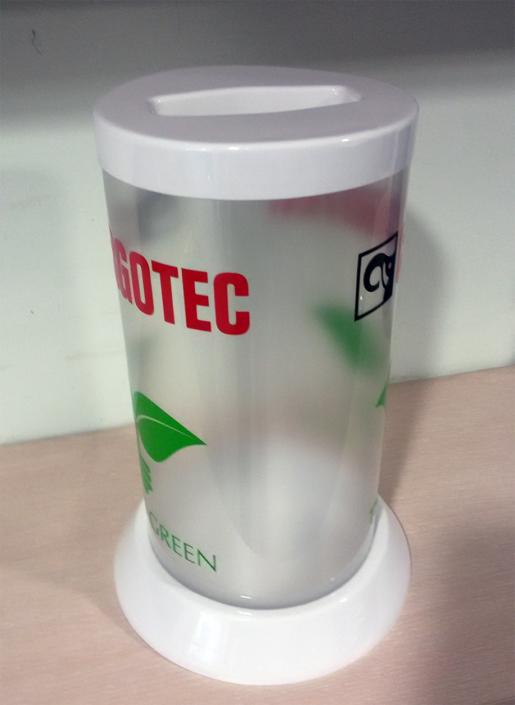 Кошчета за събиране и рециклиране на батерии за фирма CARGOTEC