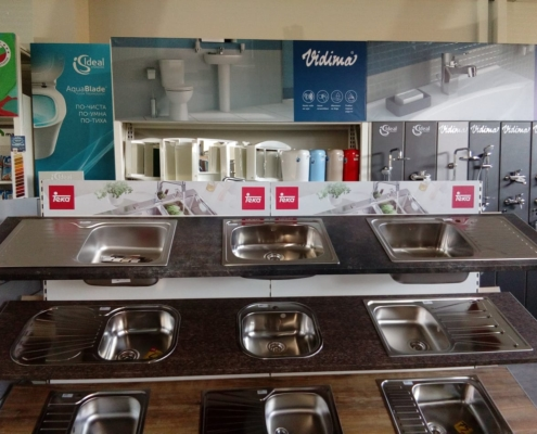 Брандиране с фолио на мястото на продажбите за фирма ТЕКА България