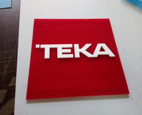 Рекламно оформление на изложбен щанд за Тека България