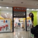 Проект и лепене на стикер за сезонно намаление до -50% от днес, в магазин AMIGO, мол Сердика.